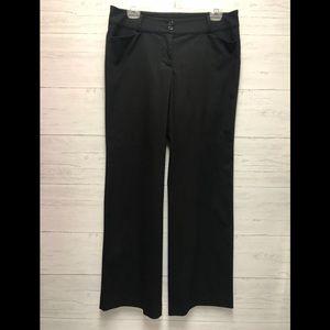 Ann Taylor Modern Fit Black dress pants size 8